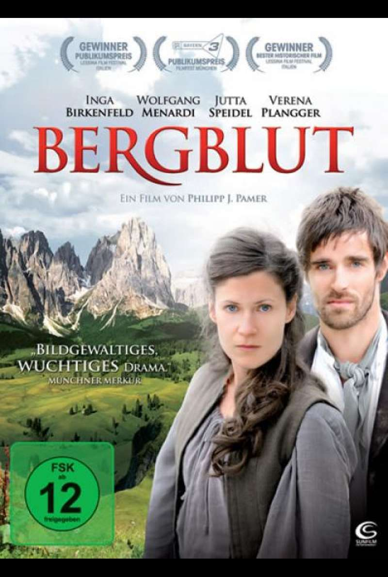 Bergblut - DVD-Cover