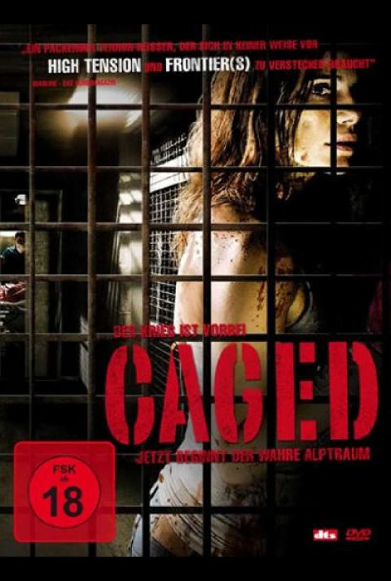 Caged - DVD-Cover