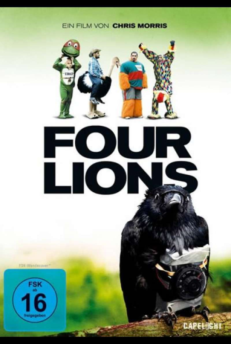 Four Lions - DVD-Cover