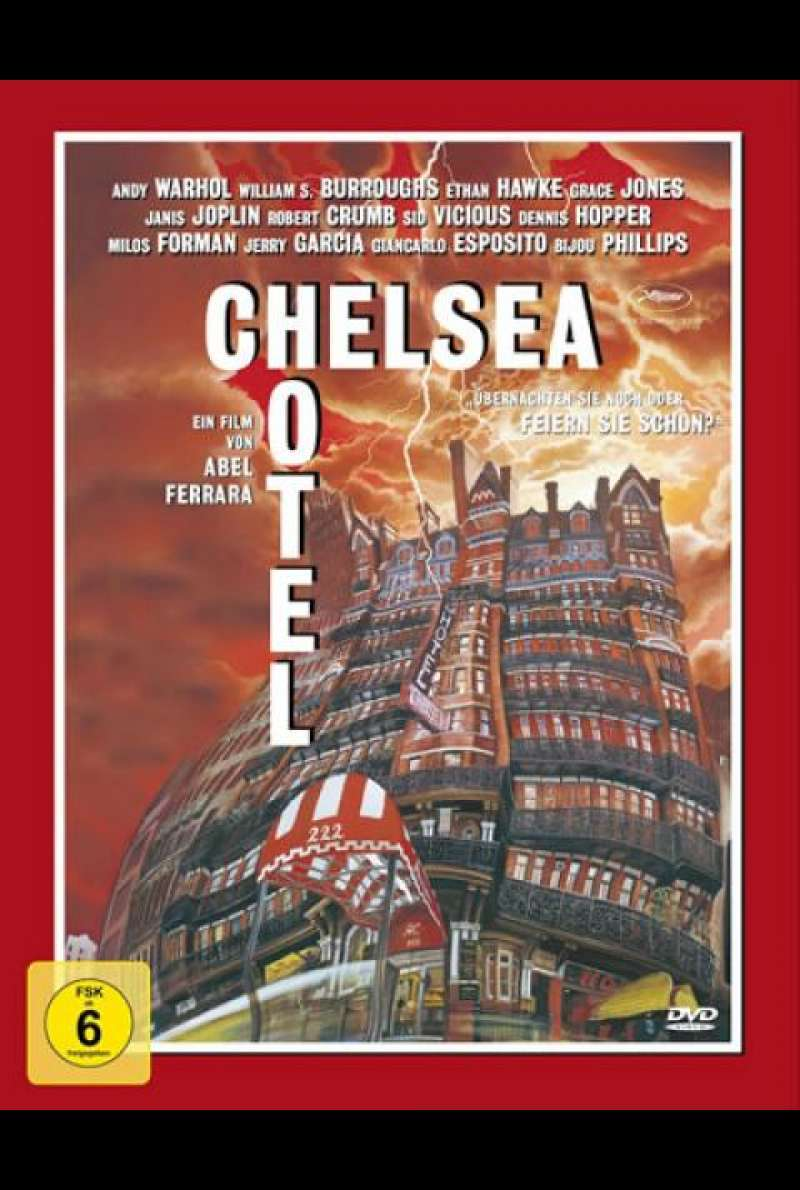 Hotel Chelsea - DVD-Cover