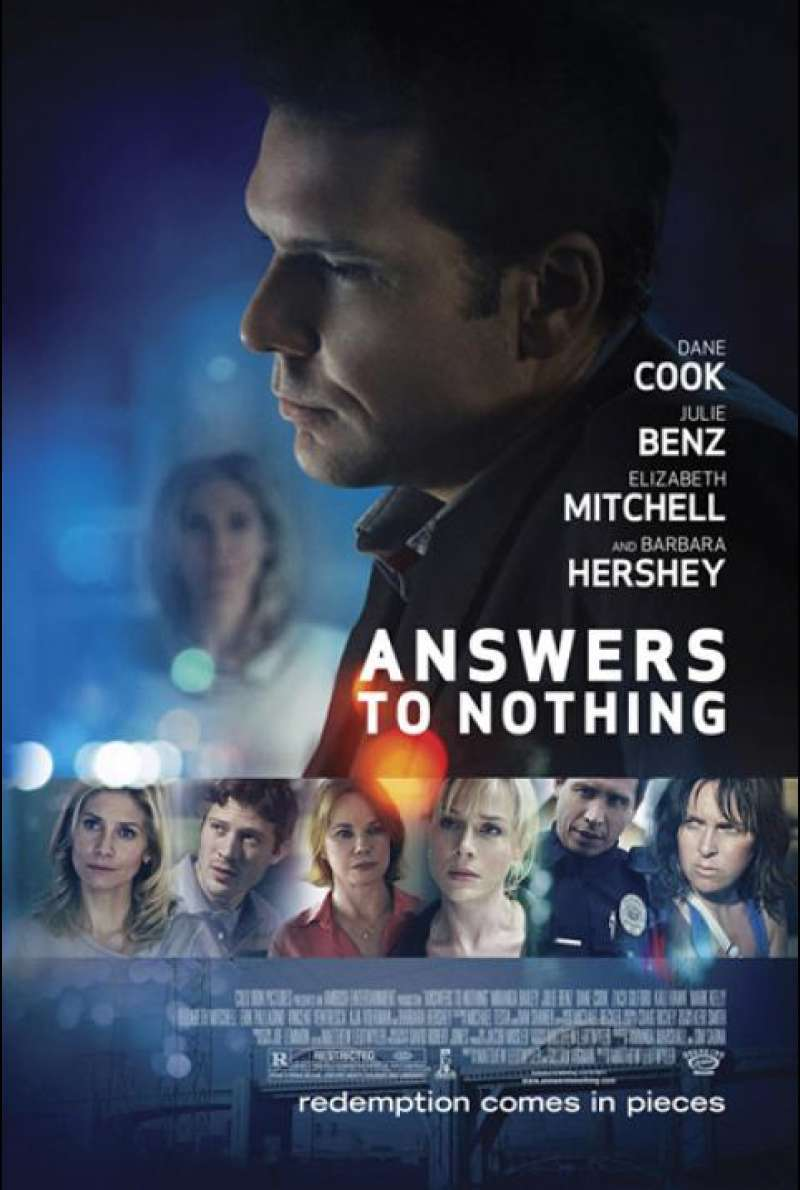 Answers to Nothing - Filmplakat (US)