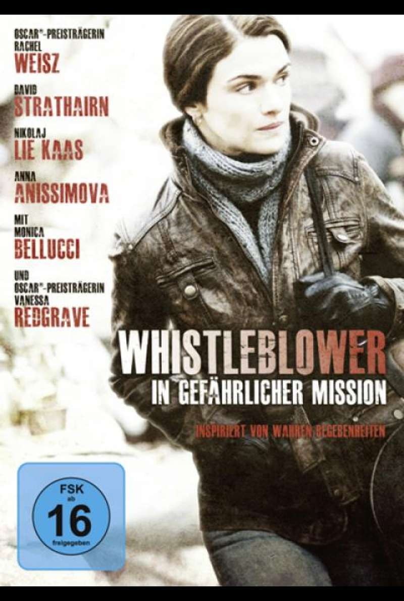 Whistleblower - In gefährlicher Mission - DVD-Cover