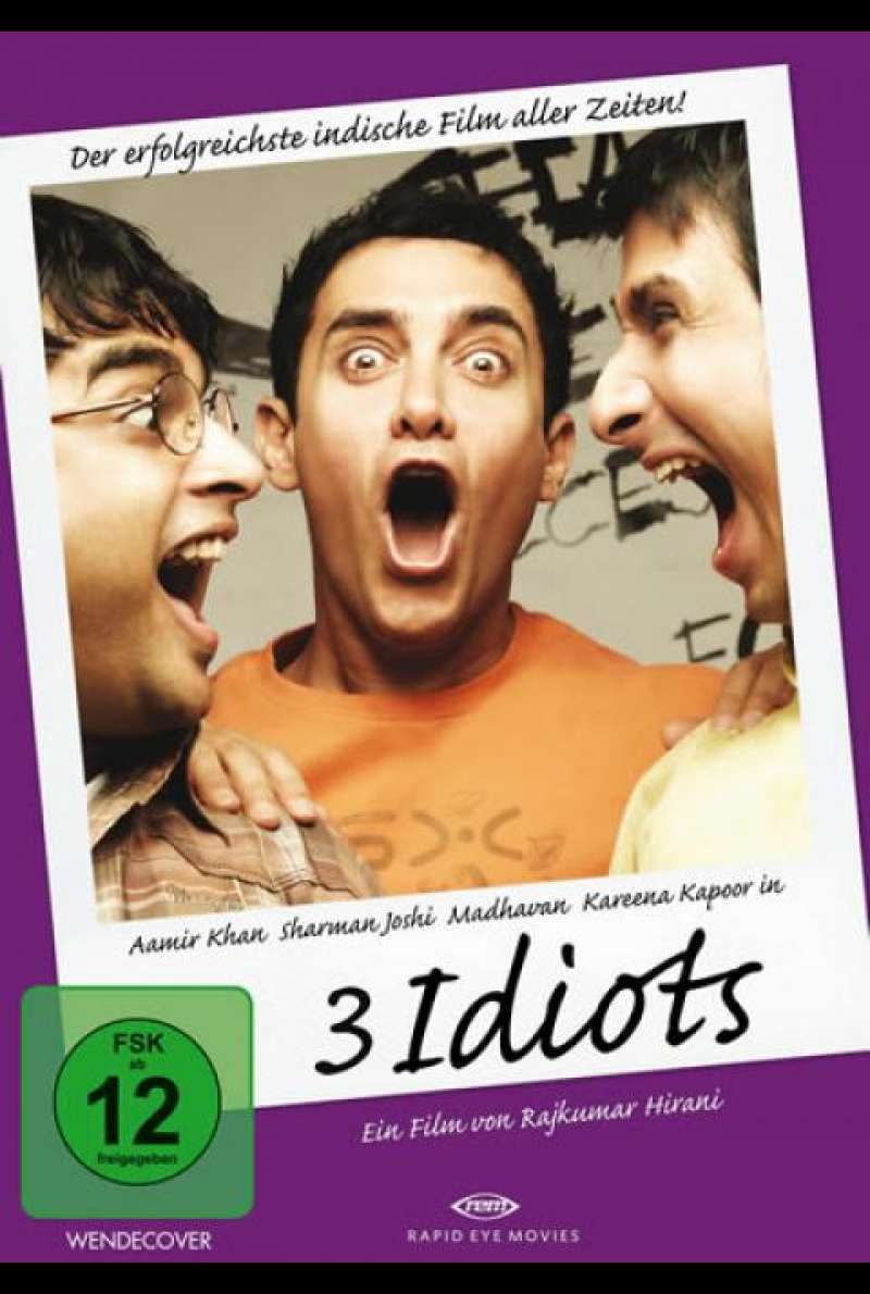 3 Idiots - DVD-Cover