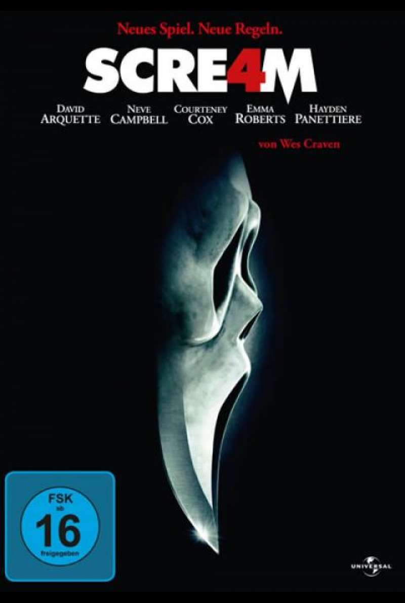 Scream 4 - DVD-Cover