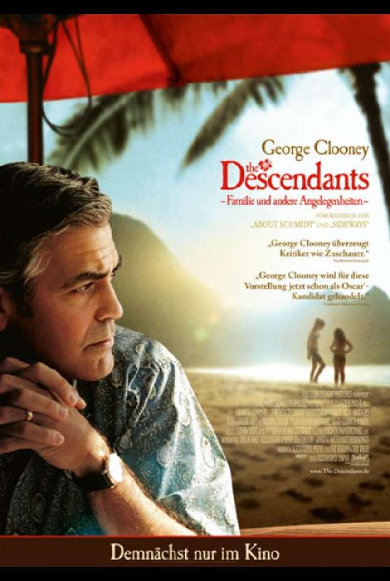 The Descendants - Filmplakat