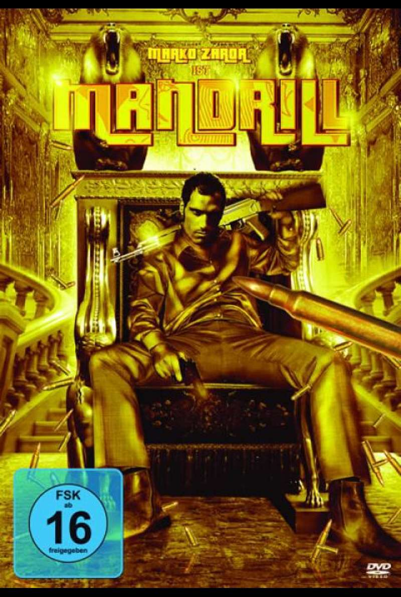 Mandrill - DVD-Cover