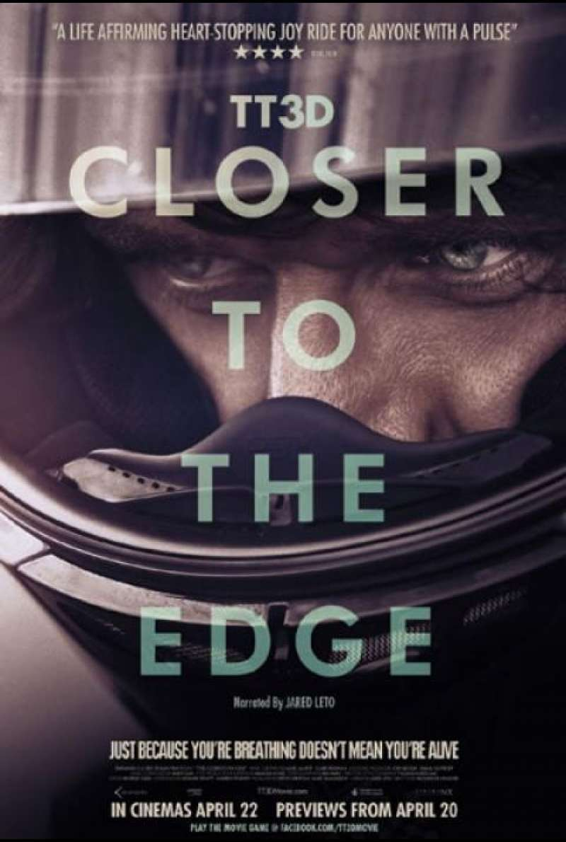 TT3D: Closer to the Edge - Filmplakat (US)