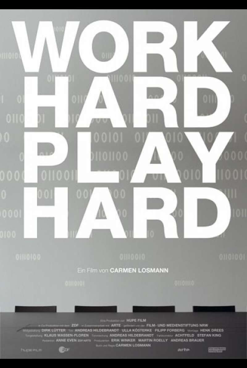 Work Hard - Play Hard - Filmplakat