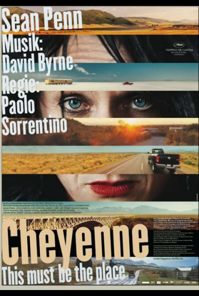 Cheyenne - This Must Be the Place - Filmplakat