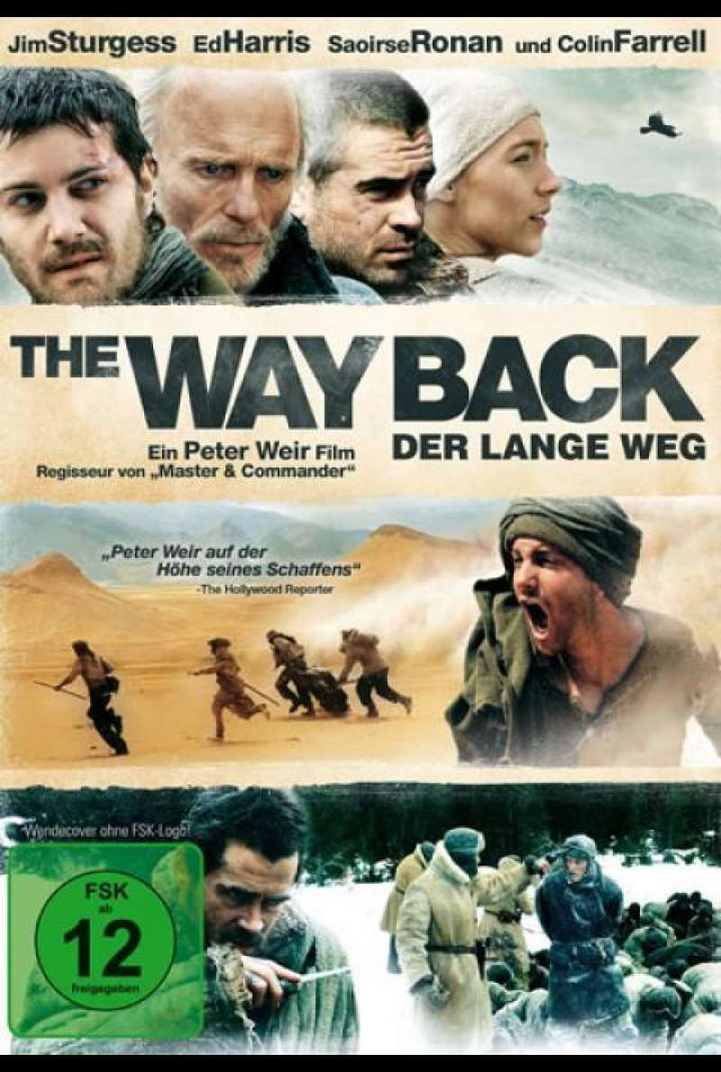 The Way Back - DVD-Cover