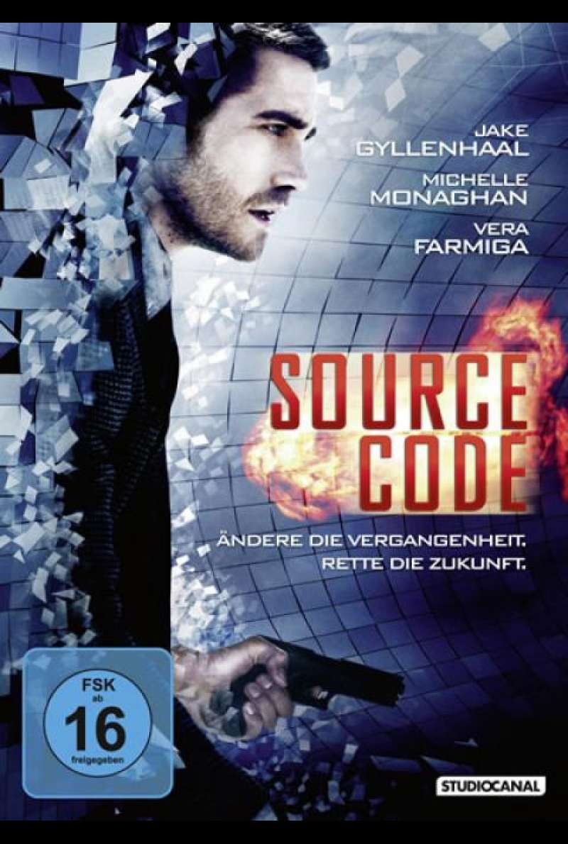 Source Code - DVD-Cover