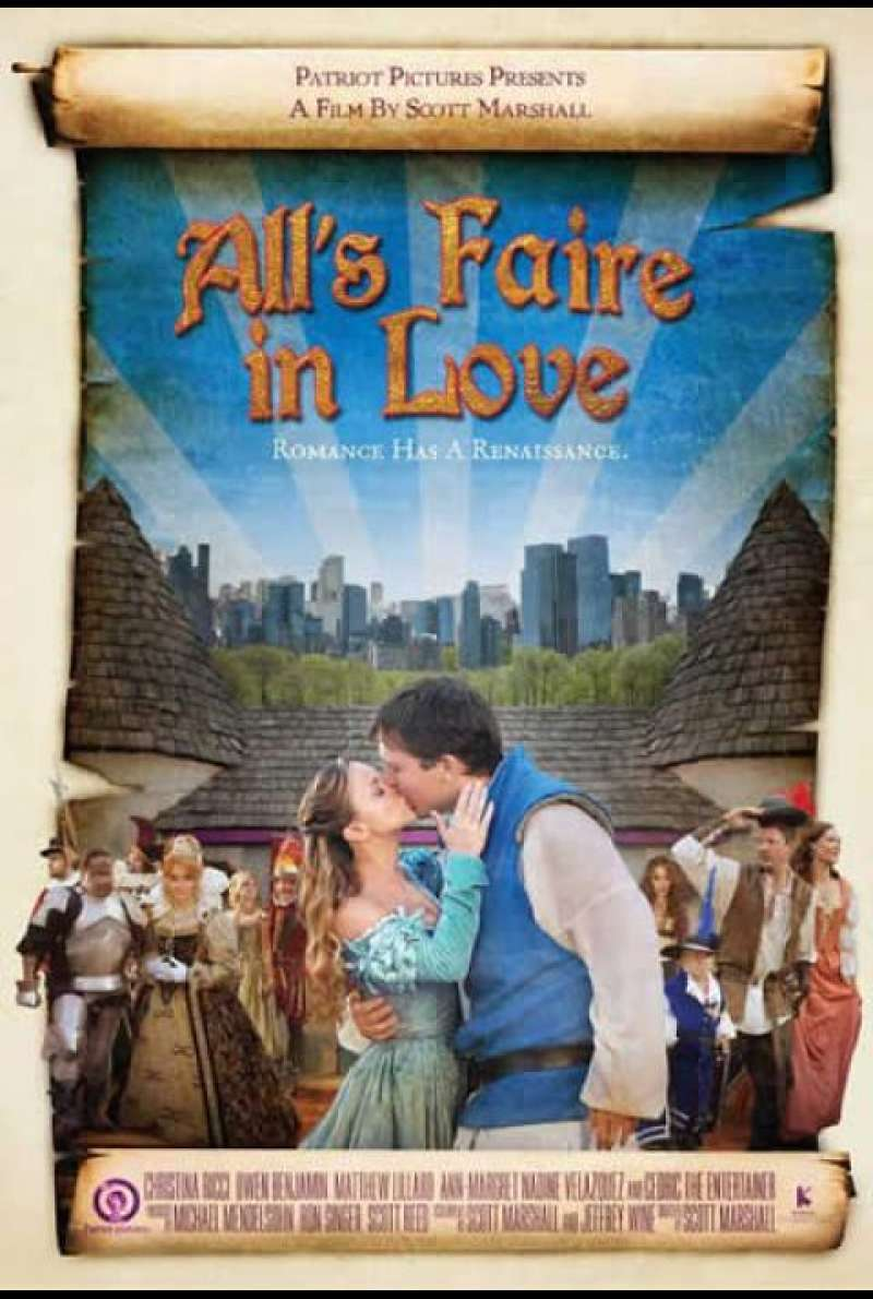 All's Faire in Love - Filmplakat (US)