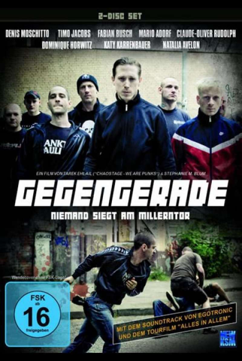 Gegengerade - Niemand siegt am Millerntor - DVD-Cover