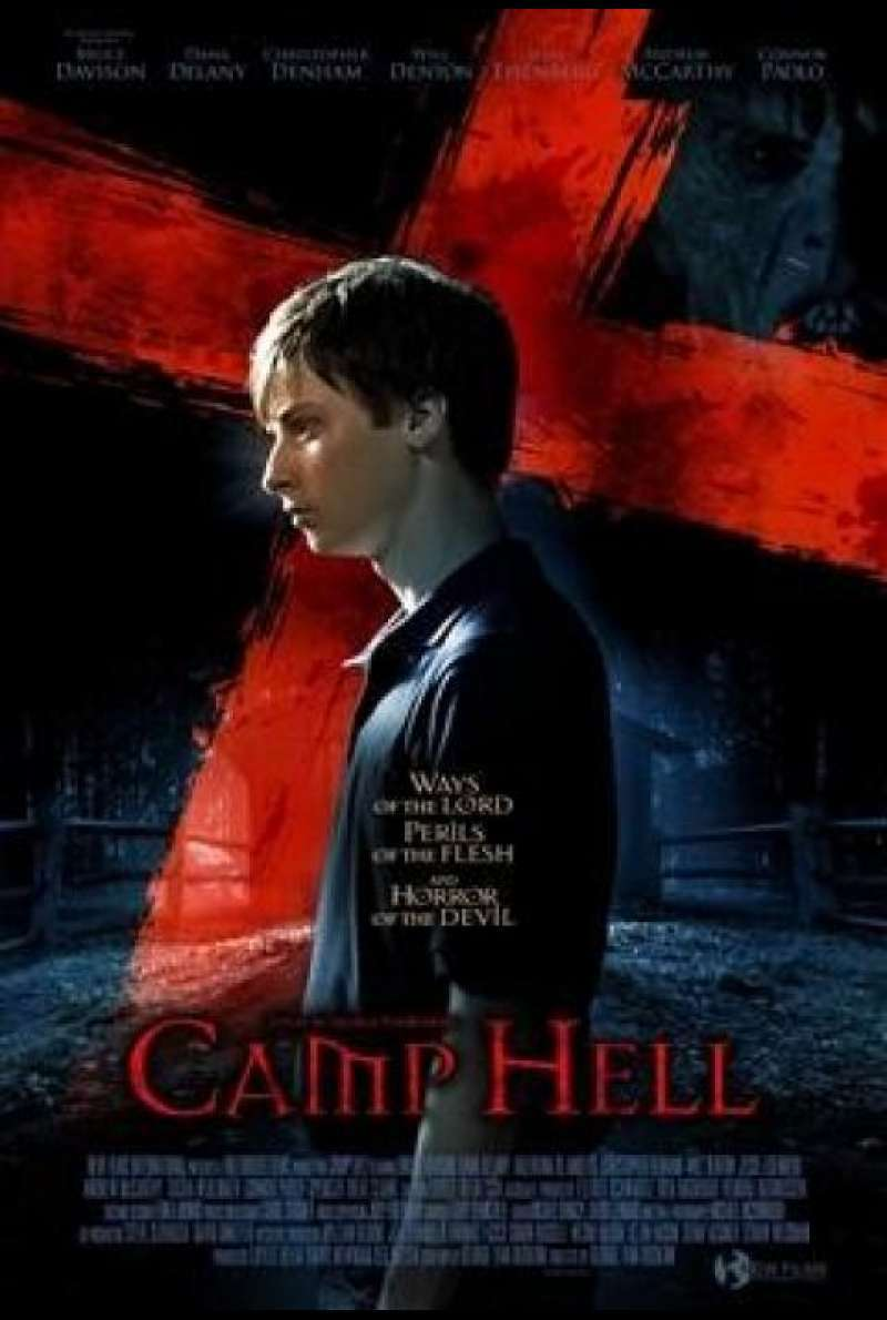 Camp Hell - Filmplakat (GB)