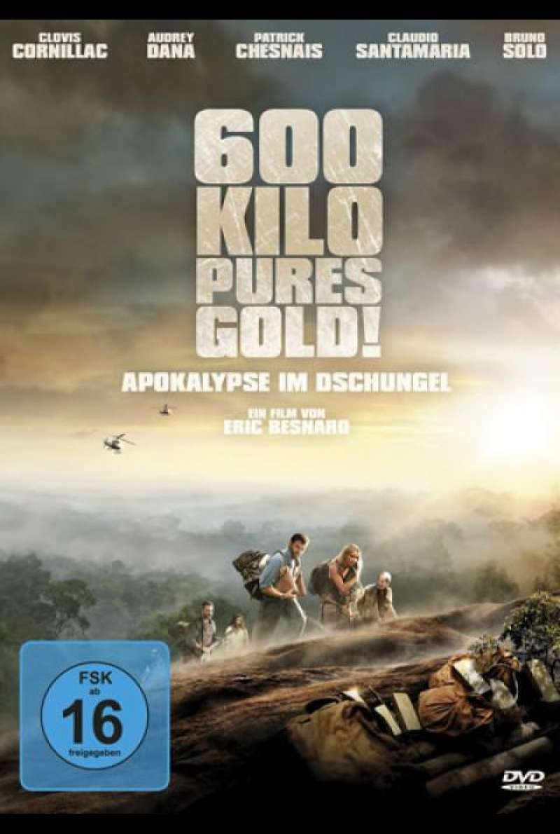 600 Kilo pures Gold! - DVD-Cover