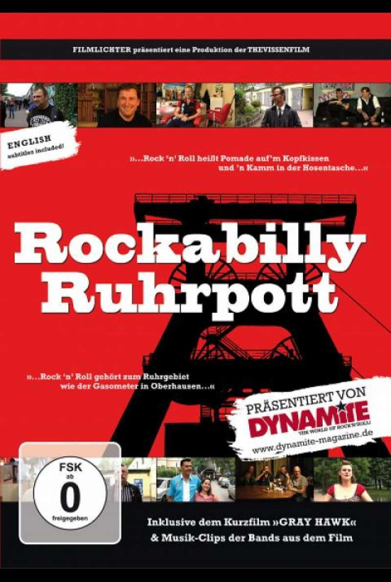 Rockabilly Ruhrpott - DVD-Cover