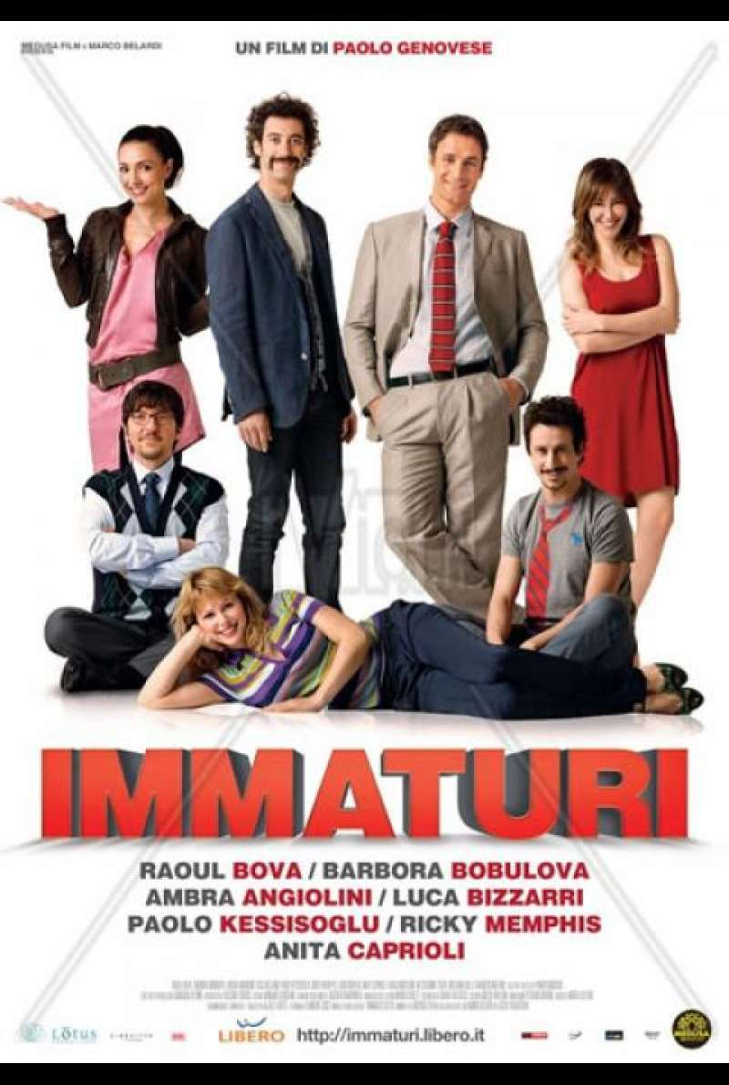 Immaturi - Filmplakat (IT)