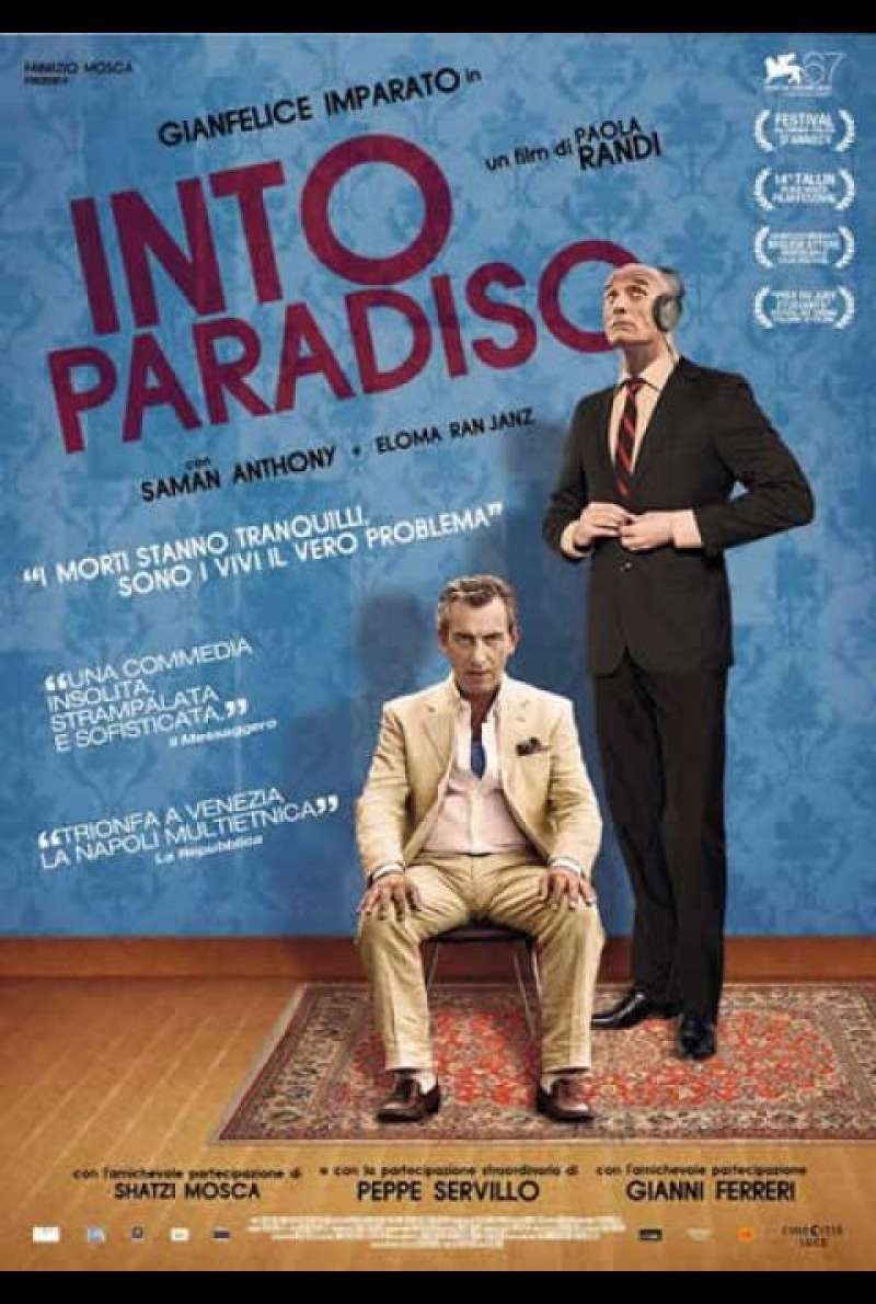 Into Paradiso - Filmplakat (IT)