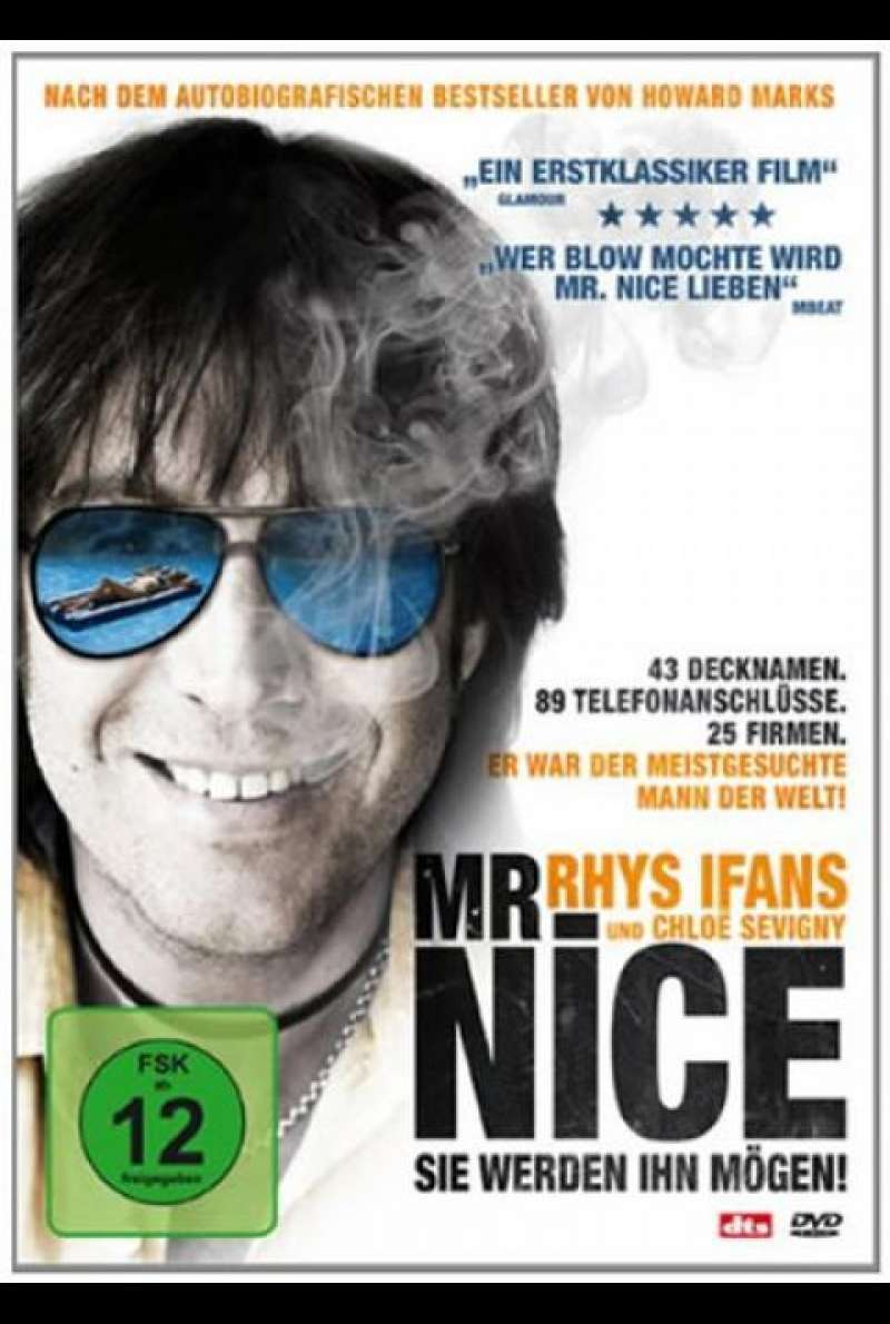 Mr. Nice - DVD-Cover