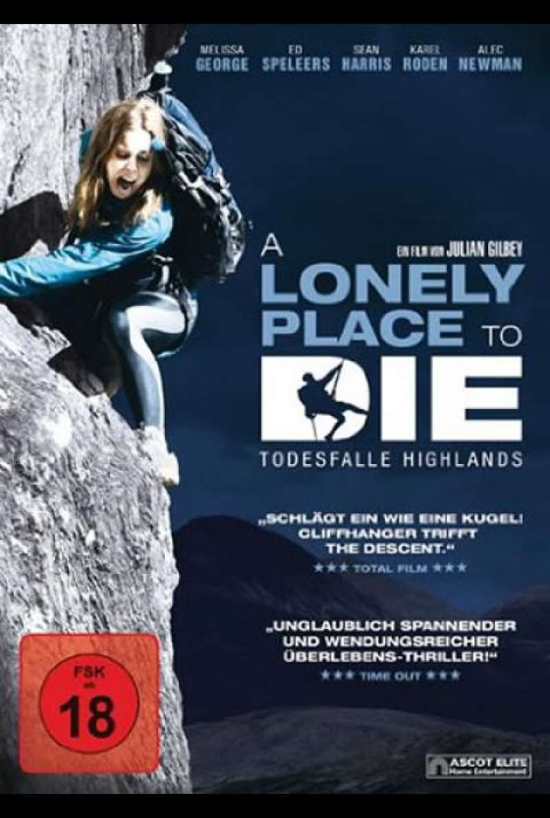A Lonely Place to Die - DVD-Cover