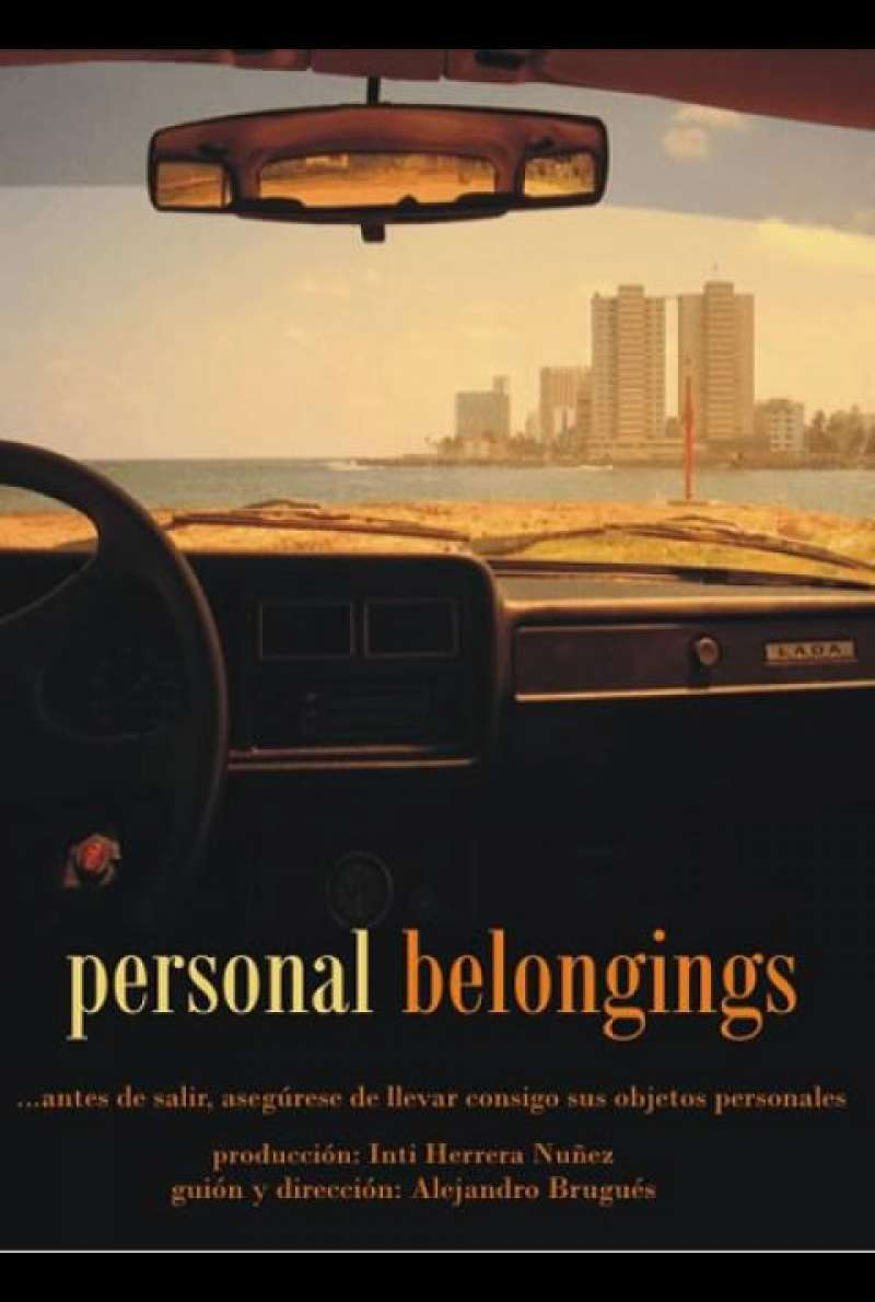 Personal Belongings - Filmplakat (CU)