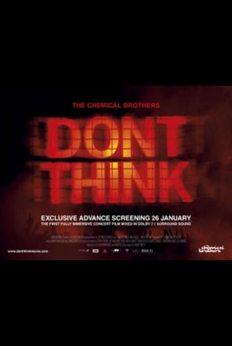 Chemical Brothers: Don't Think - Quad (GB)