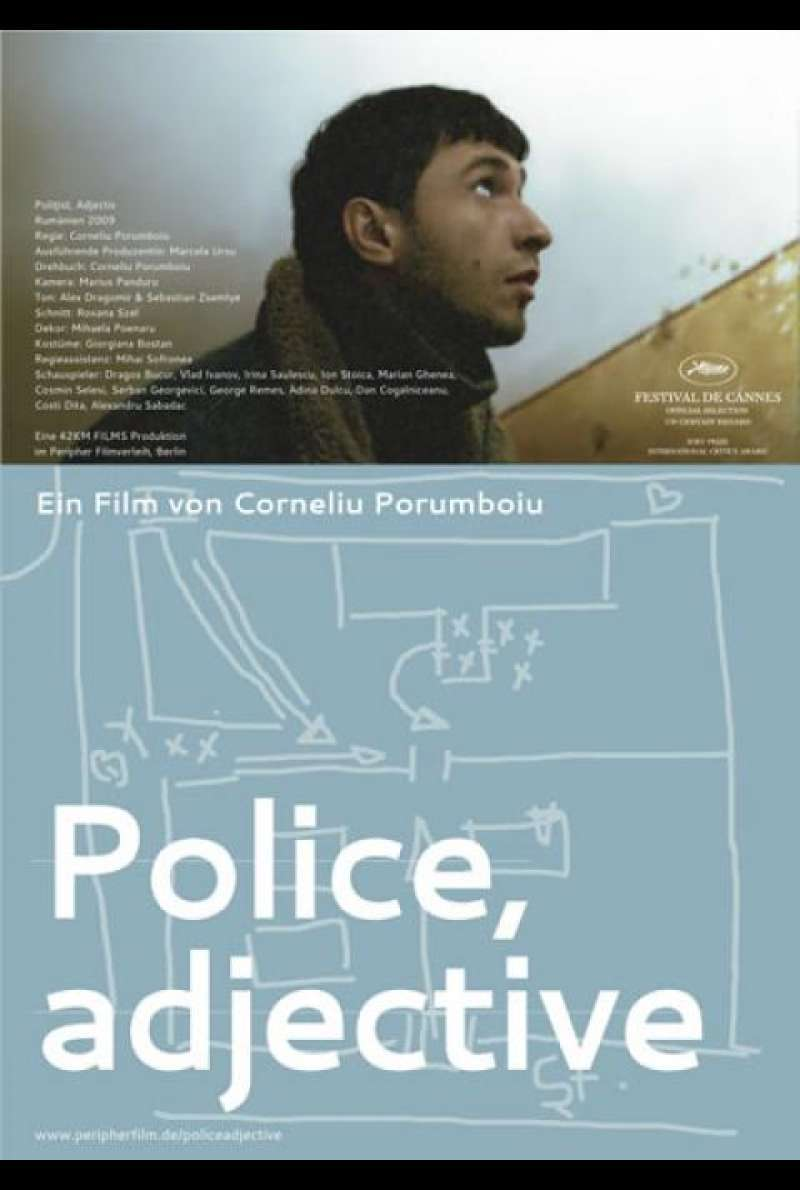 Police, adjective - Filmplakat