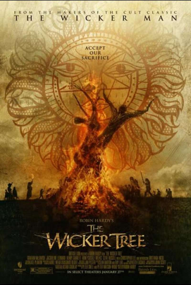 The Wicker Tree - Filmplakat (US)