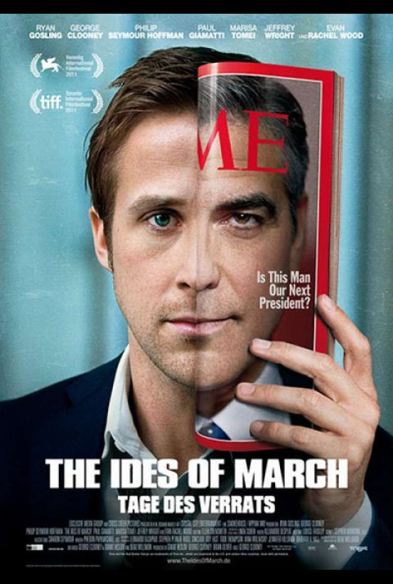 The Ides of March - Tages des Verrats - Filmplakat