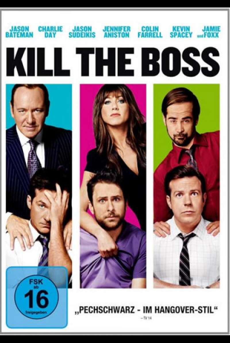 Kill the Boss - DVD-Cover