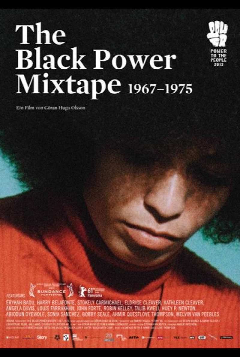 The Black Power Mixtape 1967-1975 - Filmplakat