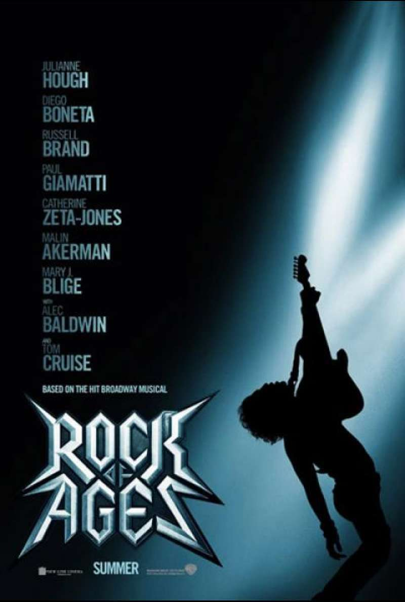 Rock of Ages - Filmplakat (US)