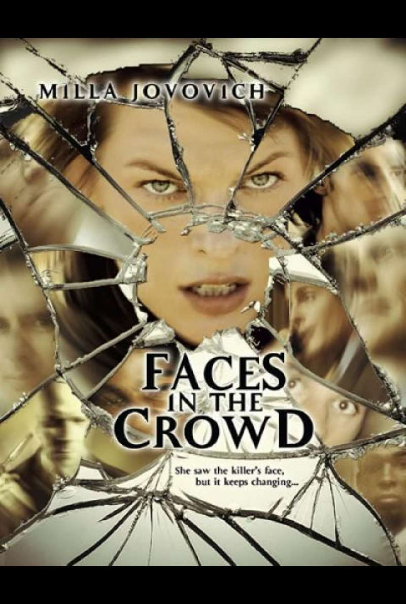 Faces in the Crowd - Filmplakat (US)