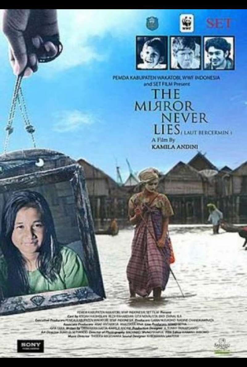 The Mirror Never Lies - Filmplakat (INT)