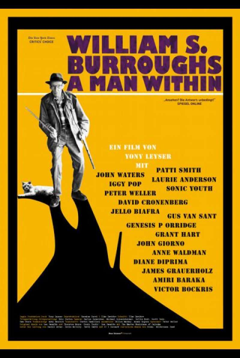 William S. Burroughs: A Man Within - Filmplakat