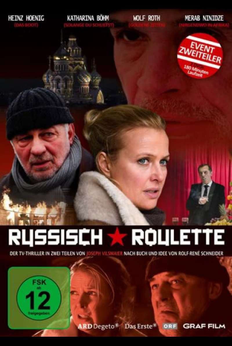 Russisch Roulette - DVD-Cover