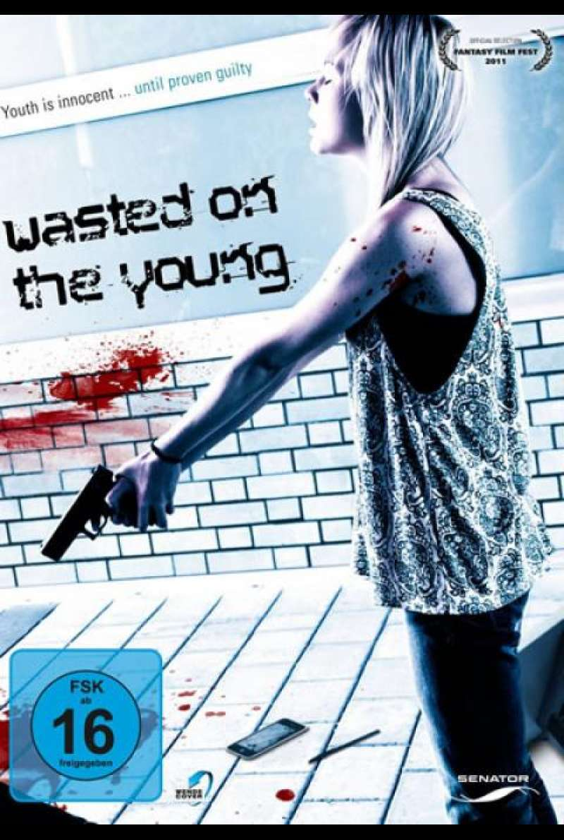 Wasted on the Young - DVD-Cover