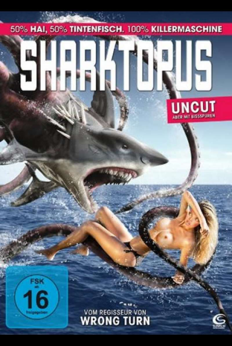 Sharktopus - DVD-Cover