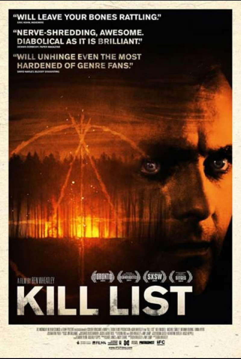 Kill List - Filmplakat (US)
