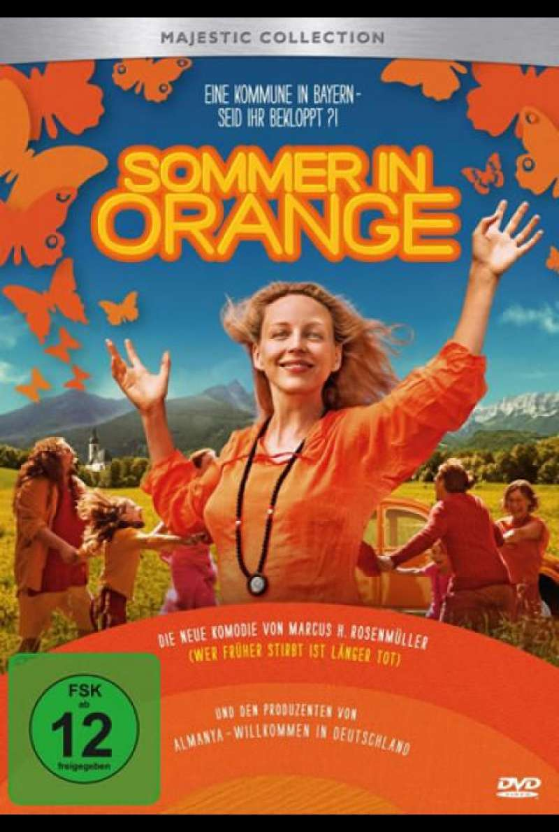 Sommer in Orange - DVD-Cover