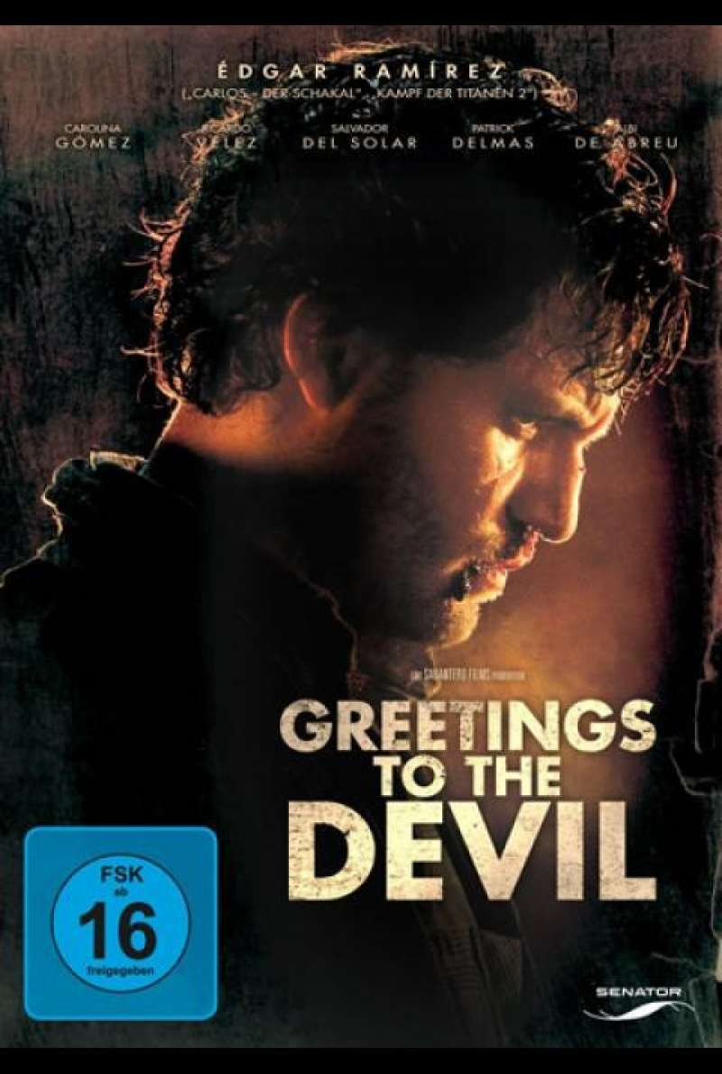 Greetings to the Devil - DVD-Cover