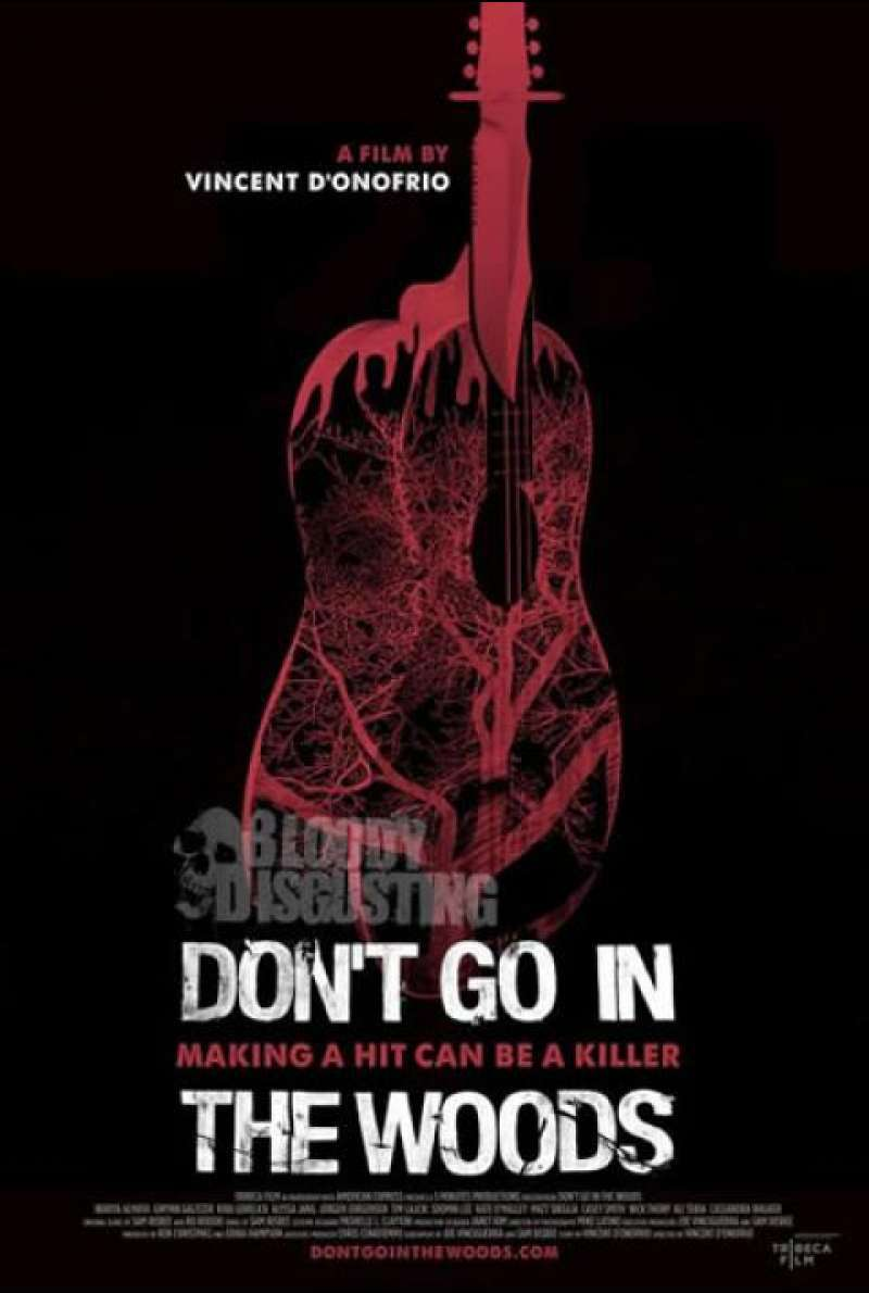Don't Go in the Woods - Filmplakat (US)