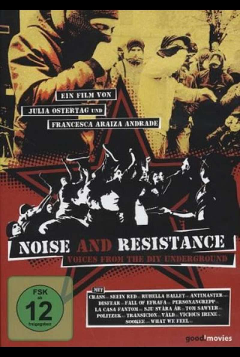 Noise and Resistance - DVD-Cover