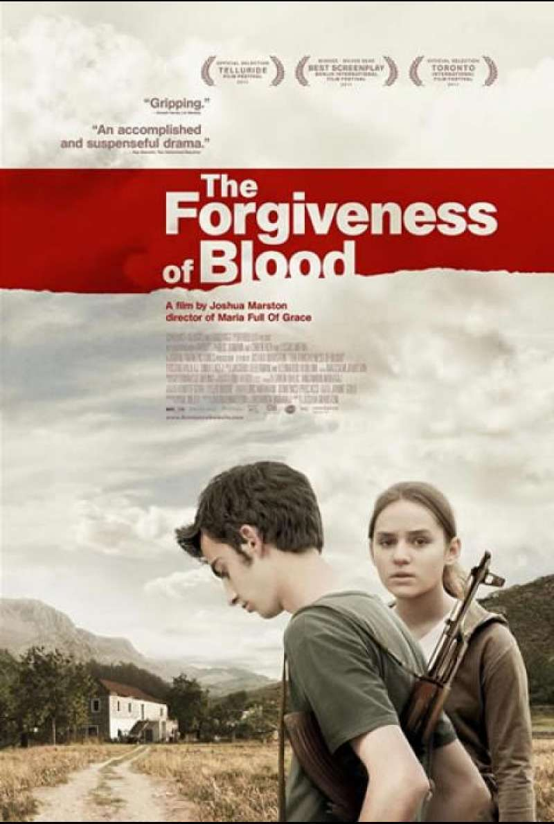 The Forgiveness of Blood - Filmplakat (US)