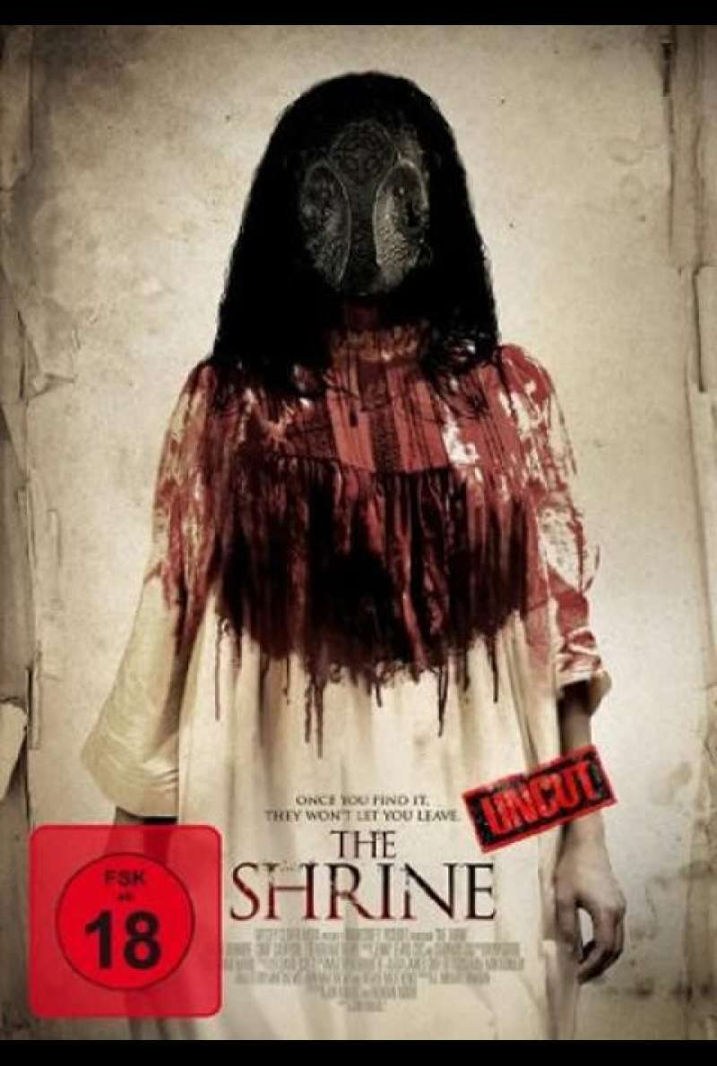 The Shrine - DVD-Cover