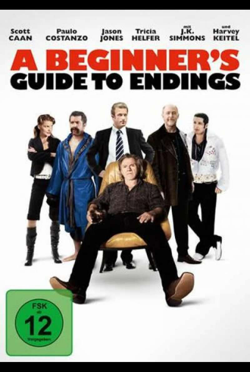 A Beginner's Guide to Endings - DVD-Cover
