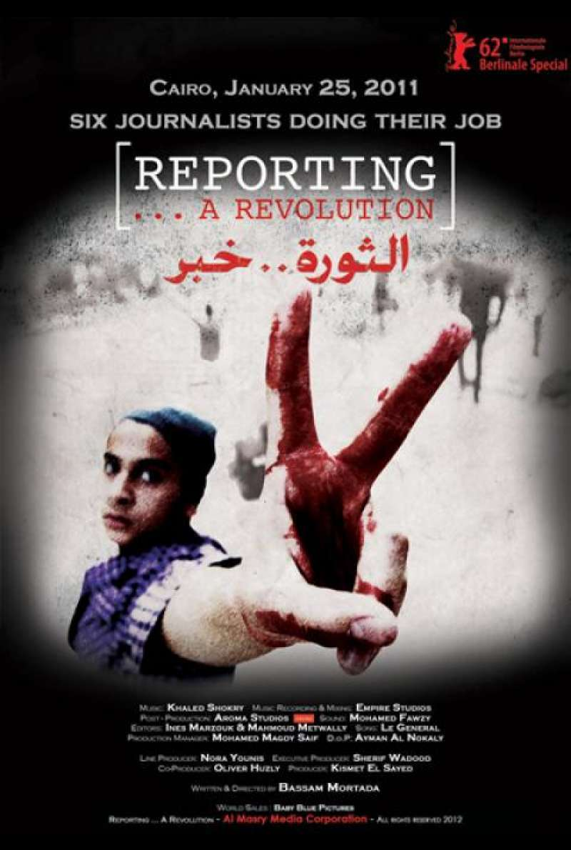 Reporting ... A Revolution - Filmplakat (INT)