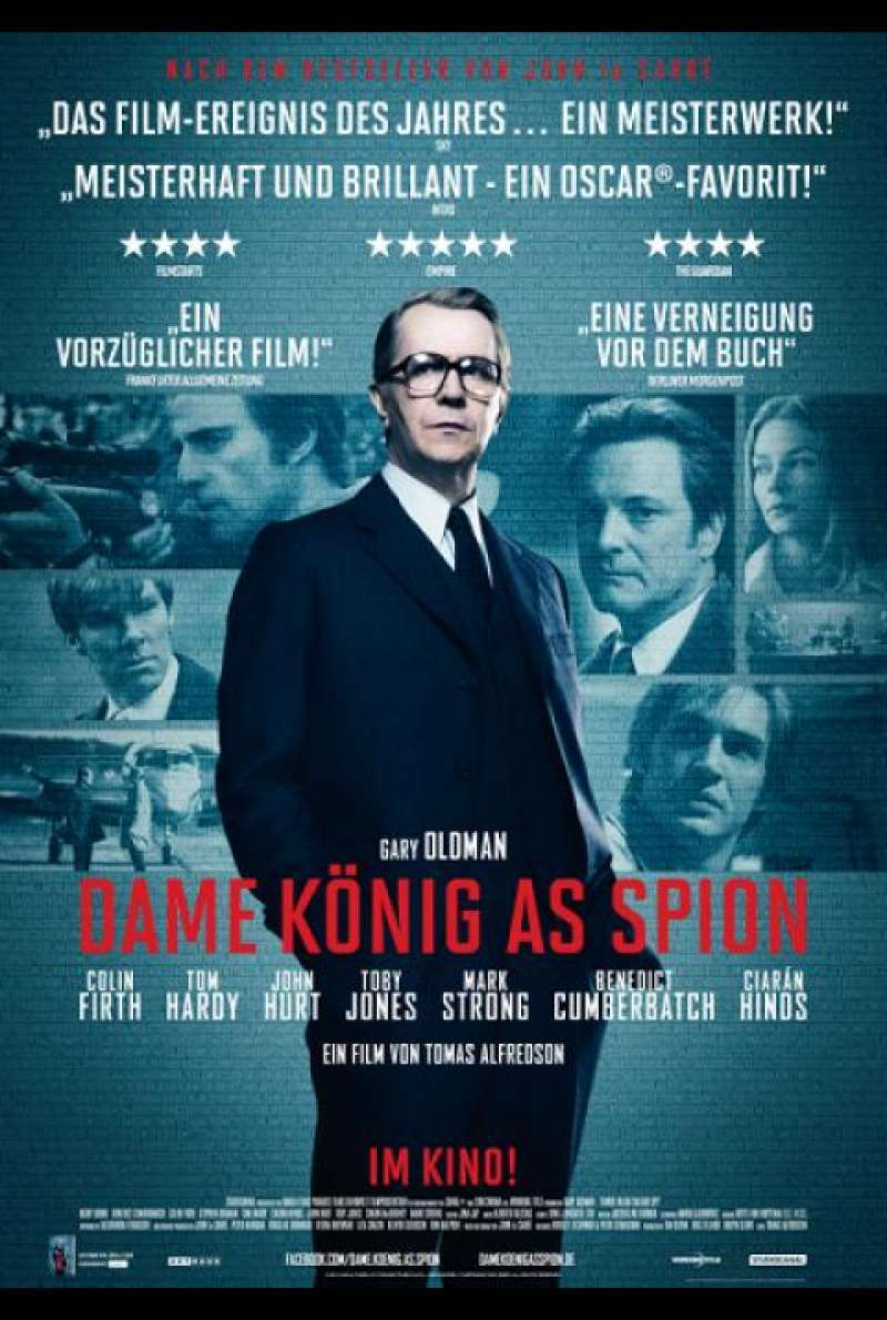 Dame, König, As, Spion - Filmplakat