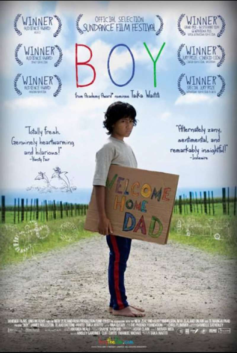 Boy - Filmplakat (US)