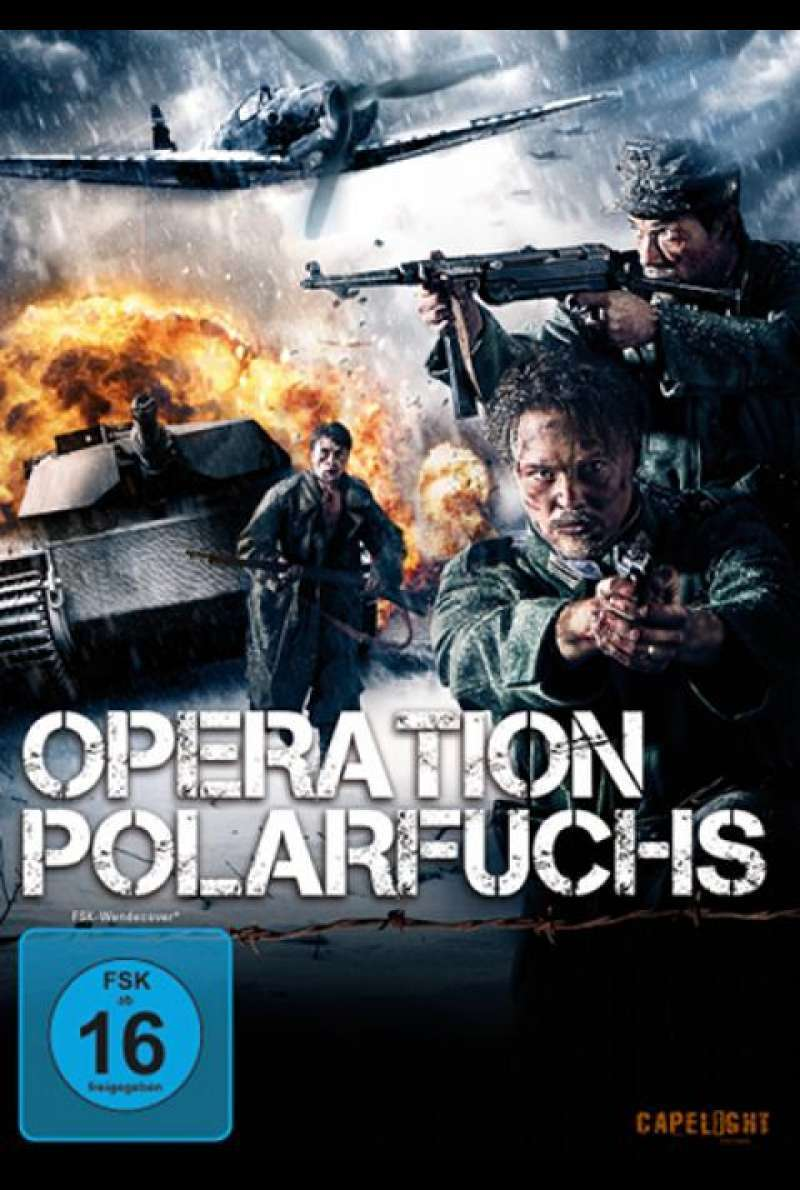 Operation Polarfuchs - DVD-Cover